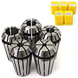 5pcs New ER16 Spring Collet 1/8''-3/8'' Alloy Spring Steel For CNC Milling Engraving Machine Lathe Tools