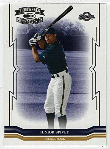 Junior Spivey (Baseball Card) 2005 Donruss Throwback Threads # 258 NM/MT