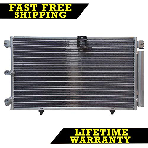 (AC A/C CONDENSER FOR LEXUS FITS RX300 3.0 V6 6CYL)