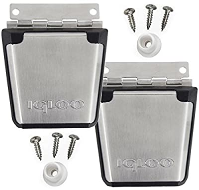 (2-Pack) Igloo Cooler Stainless Steel Latch Posts & Screws