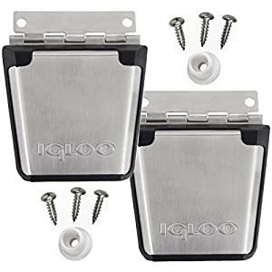 (2 Pack) Igloo Cooler Stainless Steel Latch Posts & Screws