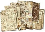 Karen Foster 20519 Honoring The Past - Juego de páginas para álbumes de recortes (30,5 x 30,5 cm)