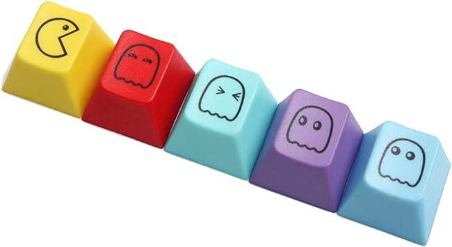 Six6 PBT Nombres de Teclas ESC, Emoji temático tecla Clave ...