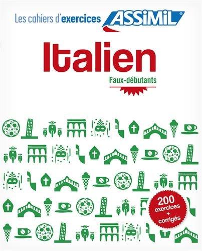cahier de vacances italien