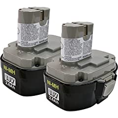 Makita 194158-6 18V (2.6Ah) Ni-MH Pod Battery (1834), 2 Count Makita 194158-6 18V (2.6Ah) Ni-MH Pod Battery (1834), 2 Count Features: Cell Type: Ni-MH Amp Hour: 2.6 Style: Pod Long-lasting battery pack designed to fit all Makita18-volt cordle...
