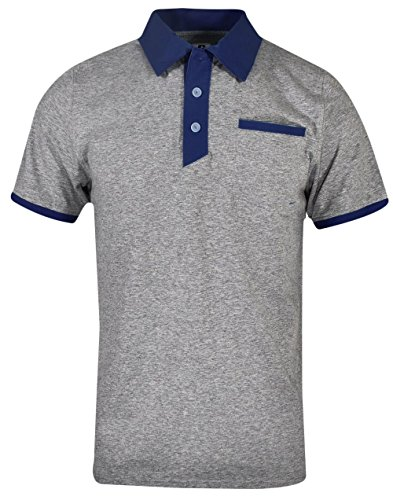 (Russell Athletic- Elite Polo Oxford/Navy Size XXL)