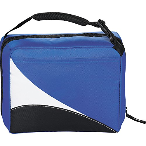 Work Compartment Dual Zone (Arctic Zone Core Wave Zipper Dual Lunch Cooler, Blue)