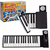 Flexible Roll Up 37 Key Piano - Features Record & Playback