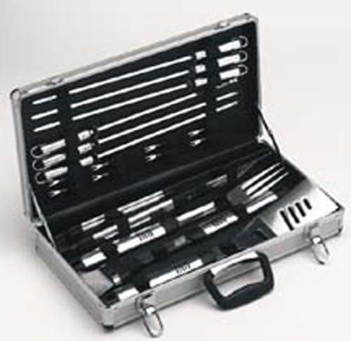 Viners 2182218 - Juego de 18 piezas para barbacoa en estuche metálico: Amazon.es: Hogar