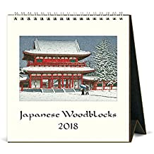 Cavallini Papers & Co Japanese Woodblock 2018 Desk Calendar