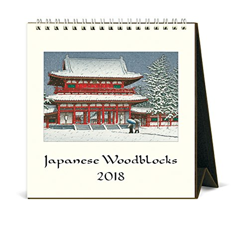 (Cavallini Papers & Co. 2018 Japanese Woodblock Desk Calendar)