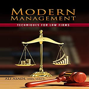 Modern Management Techniques for Law Firms Audiobook