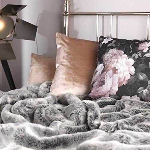 Icon Giant Faux Fur Throw Modern Living Room Sofa