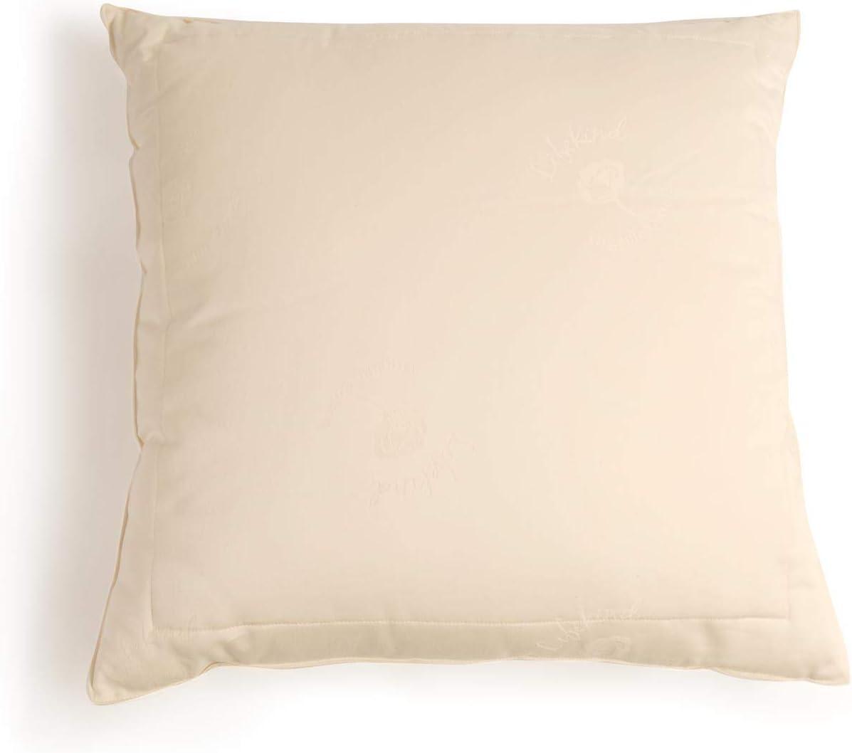 Amazon Com Lifekind Certified Organic Cotton Euro Square Pillow Size 26 X 26 Inches Home Kitchen