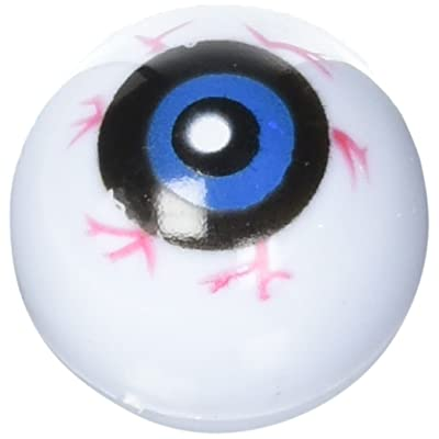 12 Hollow Plastic Eyeball Balls: Toys & Games