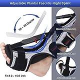 5D-Mesh Plantar Fasciitis Night Splint Foot Drop