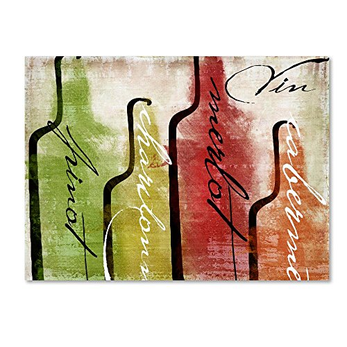 Wine Tasting I by Color Bakery cooking, Wine Canvas Wall Art