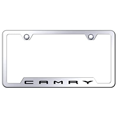 Toyota Camry Polished Steel License Plate Frame: Automotive