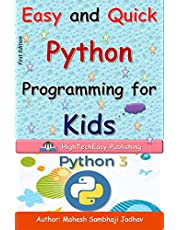 Easy and Quick Python Programming for Kids