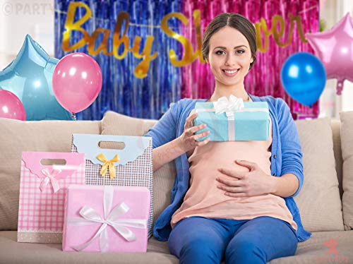 Party Propz 17Pcs Baby Shower Decoration Material Combo for Baby Shower Banner, Baby Shower Props for Decoration