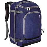 eBags TLS Mother Lode Weekender Convertible Carry-On Travel Backpack - Fits 19'' Laptop - (Brushed Indigo)