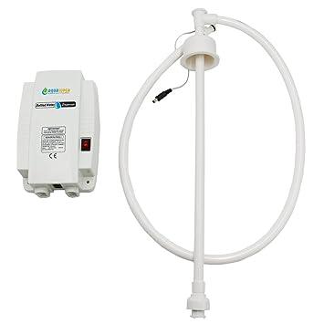 Sistema de agua de botella con entrada individual 220 V US Plug Para Frigorífico máquina para el café Ice Maker Maker 3.8L: Amazon.es: Hogar