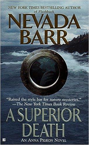 Amazon com: A Superior Death (An Anna Pigeon Novel