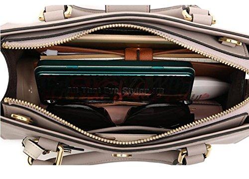 Handle Nuevo Bags Women Bolsos Fashion Black Totes Bolsos Red GSHGA Crossbody Top 80wOI