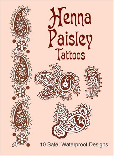 Arms Stationery Design - Henna Paisley Tattoos (Dover Tattoos)