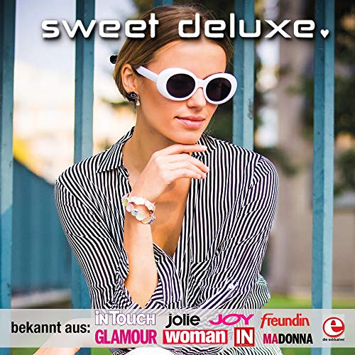 Pour Et Anneaux Laredo En Bague Deluxe I Femme Mode Bijou Cristal Sweet Argent Filles De tfqpw