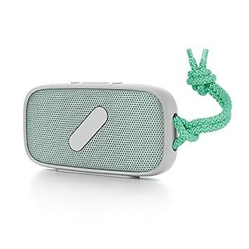 NudeAudio G4PS039MTG - Altavoz inalámbrico con Bluetooth, verde menta