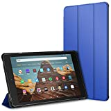 "JETech Case for Amazon Fire HD 10 Tablet 10.1"" (7th / 9th Generation, 2017 Release / 2019 Release) Smart Cover with Auto Sleep/Wake, Blue"