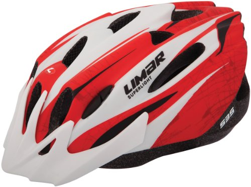 Limar 535 Bike Helmet, Matt Red/White, Medium