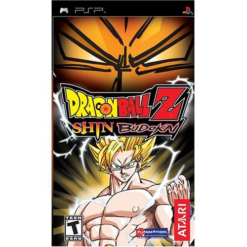 Dragonball Z Shin Budokai - Sony PSP (Best Dragon Ball Psp Game)