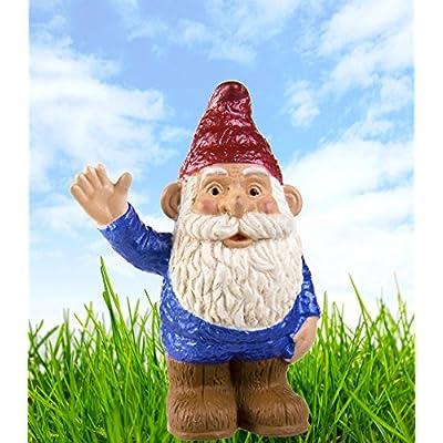 Safari S802429 Mythical Realms Blue Gnome Miniature: Toys & Games