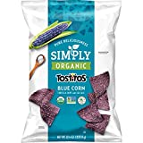 Simply Organic Tostitos Blue Corn Tortilla Chips, 8.25 Ounce