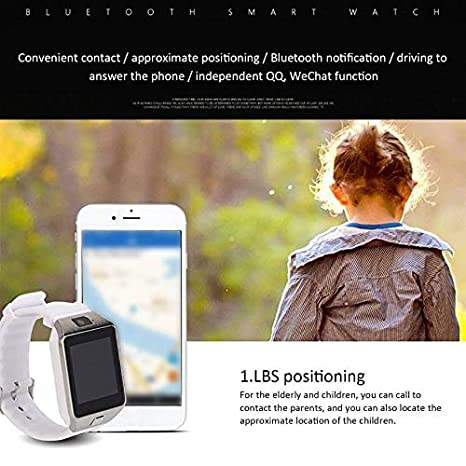 VCB Smart Watch Dz09 Gold Silver Smartwatch para iOS para Android ...
