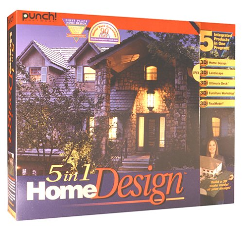Amazon.com: Punch 5 In 1 Home Design - Old Version
