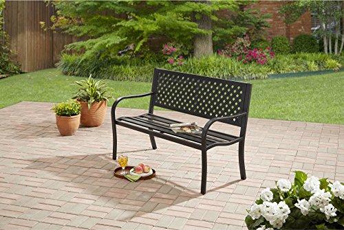 Mainstays Patio Furniture Steel Bench