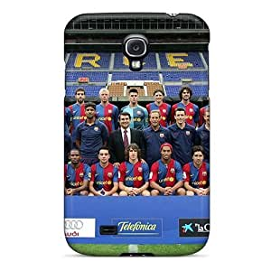 Evanhappy42 Cases Covers Protector Specially Made For Galaxy S4 Fc Barcelona