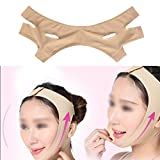 Facial Mask To Reduce Double Chin - Face Lift Up Belt Facial Slimming Mask Thin Neck Sleeping Face-Lift Reduce Double Chin Bandage(L)