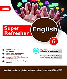 mbd english super refresher cbse class 6 amazon in s krishnan rh amazon in MBD Chemistry MBD Oil