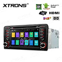 XTRONS HDMI Android 7.1 Quad Core 7 Inch HD Digital Touch Screen Car Stereo Radio DVD Player GPS for AUDI A3/S3/RS3