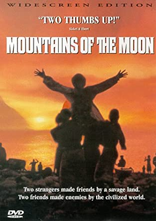 Image result for mountains of the moon poster amazon