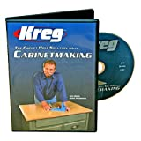 Kreg V03-DVD Pocket Hole Joinery DVD, Cabinet Making