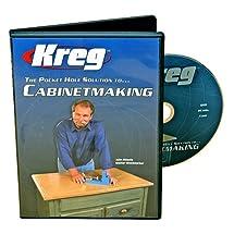 Kreg V03-DVD Pocket Hole Joinery DVD, Cabinet Making