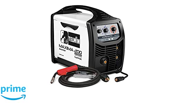 Telwin Elements Maxima 200 Multi Proceso synergic - Gas Soldador Mig ...