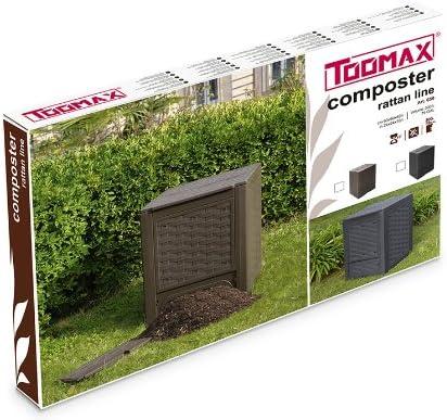 Amazon.com: TOOMAX ART650COL - Compostador de ratán ...