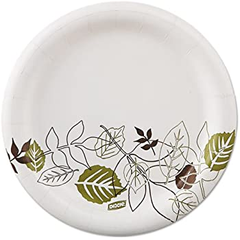 Dixie - Pathways Mediumweight Paper Plates 6 7/8  WiseSize Green/Burgundy 125/Pack UX7WSPK (DMi PK  sc 1 st  Amazon.com & Amazon.com: Dixie UX9WSPK Pathways Mediumweight Paper Plates 8 1/2 ...