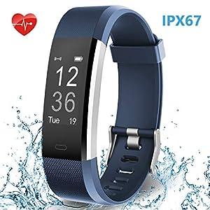HolyHigh Waterproof Smart Watch Fitness...